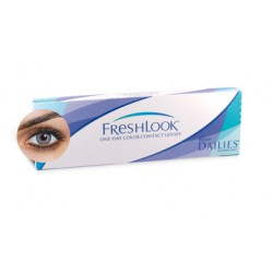 Freshlook One Day 10L Bleu Azur